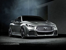 Introducing Project Black S: an exploration of a new INFINITI high-performance model line